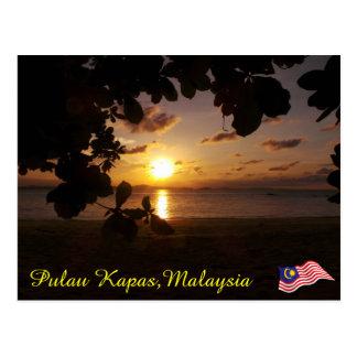 Pulau Kapas: Set 1 Postcard