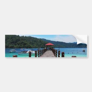 Pulau Sapi Malaysia Bumper Stickers