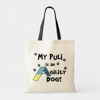 Puli Agility Dog Tote Bag