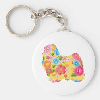 Puli Basic Round Button Key Ring