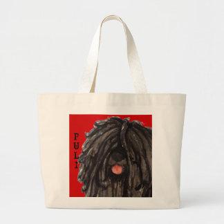 Puli Color Block Large Tote Bag