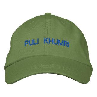 Puli Khumri Cap Embroidered Cap