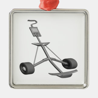 Pull Cart Christmas Ornament