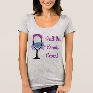 Pull the Crunk Lever - Bad Girls Drinking Club T-Shirt