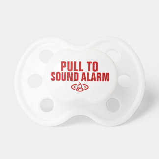 Pull to sound alarm dummy