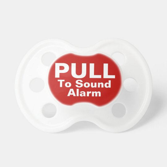 Pull To Sound Alarm Funny Pacifiers