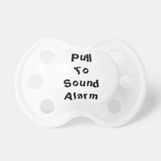 Pull To Sound Alarm Pacifier