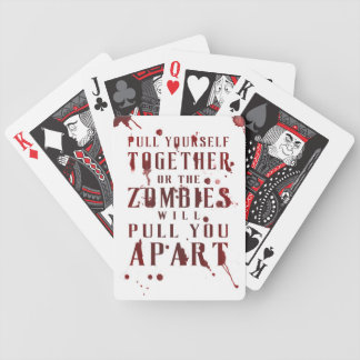 Pull Yourself Together Bicycle Playing Cards