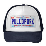Pulled Pork NC Plate Trucker Hat