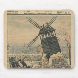 Pulling down one of the last windmills mouse mat