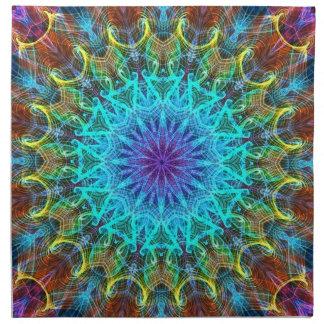 Pulling In kaleidoscope Napkin