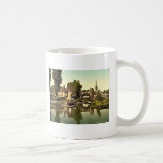 Pulls Ferry, Norwich, England rare Photochrom Mugs