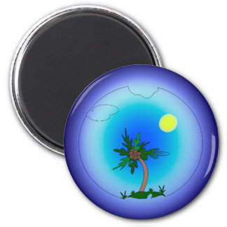 Pulm tree magnet