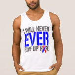 Pulmonary Fibrosis I Will Never Ever Give Up Hope Tanktops