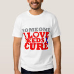 Pulmonary Fibrosis Someone I Love Needs A Cure T-shirts