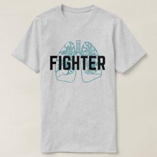 Pulmonary Fighter Men's Blue T-Shirt