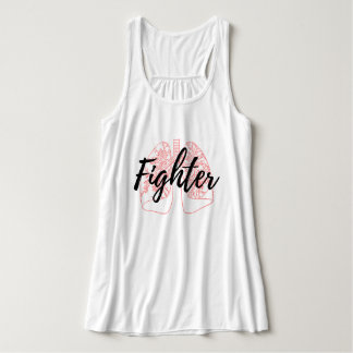 Pulmonary Fighter Pink Tank Top