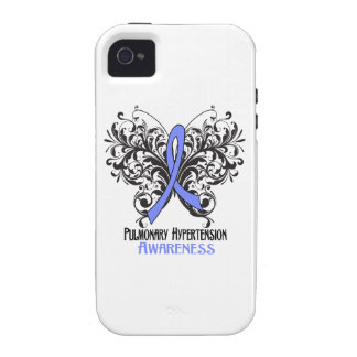 Pulmonary Hypertension Awareness Butterfly Vibe iPhone 4 Cases