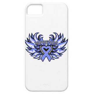 Pulmonary Hypertension Awareness Heart Wings iPhone 5 Cover