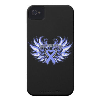 Pulmonary Hypertension Awareness Heart Wings Case-Mate iPhone 4 Case
