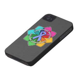 Pulmonary Hypertension Awareness Matters Petals Case-Mate iPhone 4 Cases