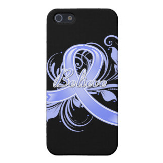 Pulmonary Hypertension Believe Flourish Ribbon Cases For iPhone 5