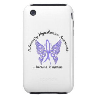 Pulmonary Hypertension Butterfly 6.1 iPhone 3 Tough Cases