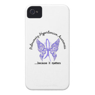 Pulmonary Hypertension Butterfly 6.1 iPhone 4 Case-Mate Case