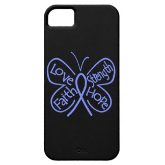 Pulmonary Hypertension Butterfly Inspiring Words iPhone 5 Case
