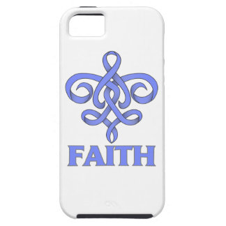 Pulmonary Hypertension Faith Fleur de Lis Ribbon iPhone 5 Case