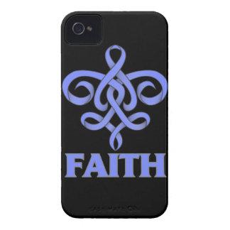 Pulmonary Hypertension Faith Fleur de Lis Ribbon Case-Mate iPhone 4 Cases