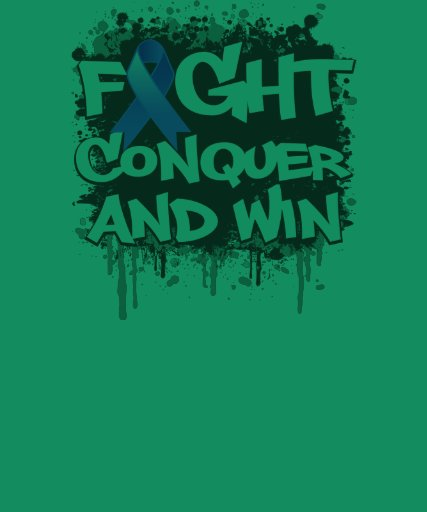 Pulmonary Hypertension Fight Conquer and Win Tshirts