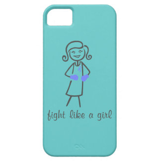 Pulmonary Hypertension Fight Like A Girl (Retro) iPhone 5 Cases