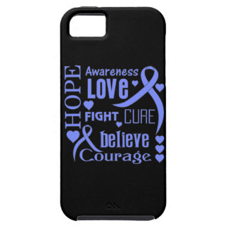 Pulmonary Hypertension Hope Words Collage Tough iPhone 5 Case
