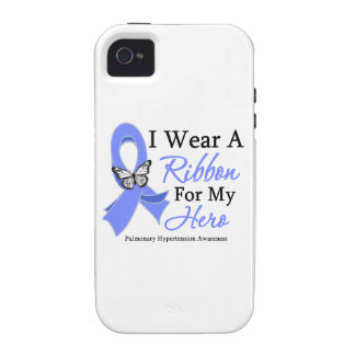 Pulmonary Hypertension I Wear a Ribbon For My Hero iPhone 4/4S Case