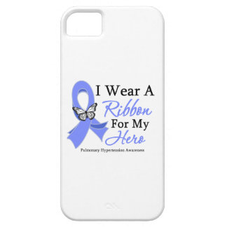Pulmonary Hypertension I Wear a Ribbon For My Hero iPhone 5 Covers