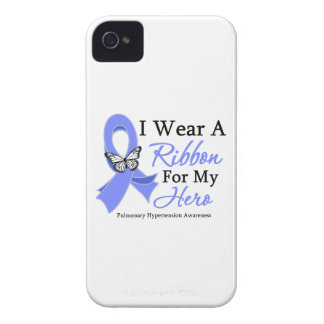 Pulmonary Hypertension I Wear a Ribbon For My Hero iPhone 4 Case