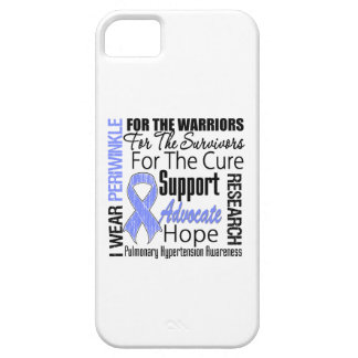 Pulmonary Hypertension I Wear Periwinkle Ribbon iPhone 5 Cover
