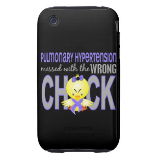 Pulmonary Hypertension Messed With Wrong Chick Tough iPhone 3 Cover