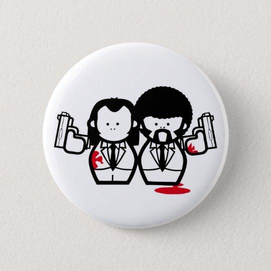 pulp me 6 cm round badge