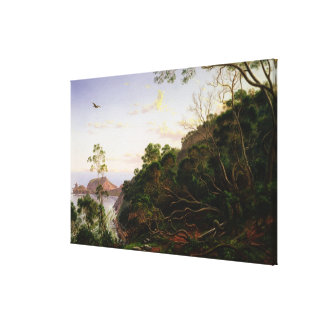 Pulpit Rock near Melbourne Canvas Print