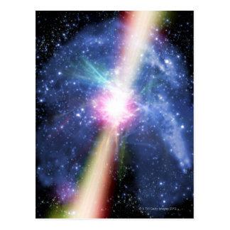 Pulsar Postcard