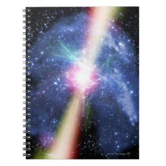 Pulsar Spiral Notebook