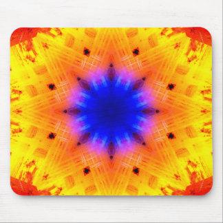 Pulsar Star Mandala Mouse Mat