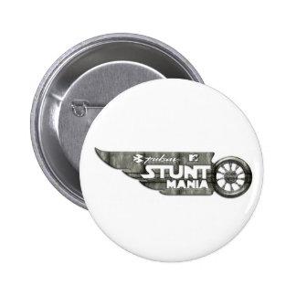 Pulsar Stunt Mania 6 Cm Round Badge