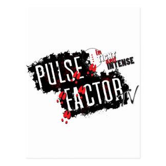 Pulse Factor TV Gear Postcard
