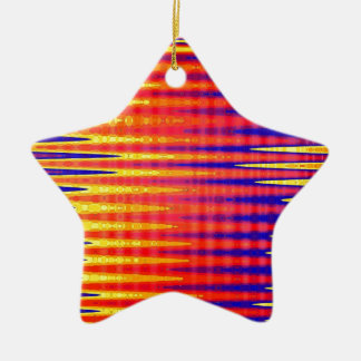 Pulse in bright abstract colours. christmas ornament