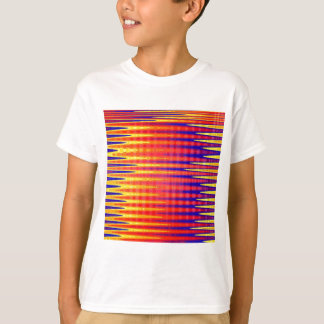 Pulse in bright abstract colours. T-Shirt