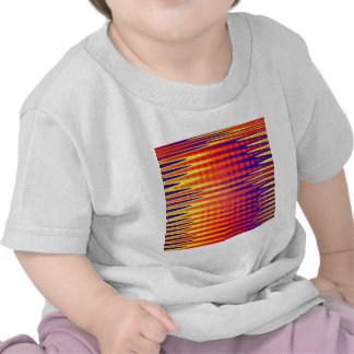 Pulse in bright abstract colours. t shirt