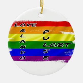 Pulse LGBT Flag Ornament